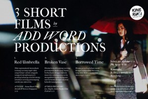 Red Umbrella, film terbaik di ajang Asian Short Film Awards @ScreenSingapore 2011 yang dewan jurinya diketuai Oliver Stone [read more]
