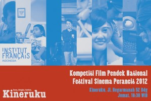 Pemutaran 10 judul yang masuk putaran final Kompetisi Film Pendek Sinema Perancis 2012 [read more]