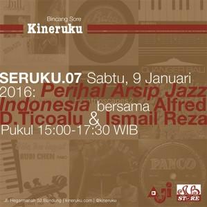 Bincang sore santai di Kineruku soal sejarah jazz Indonesia dan pengarsipannya [read more]