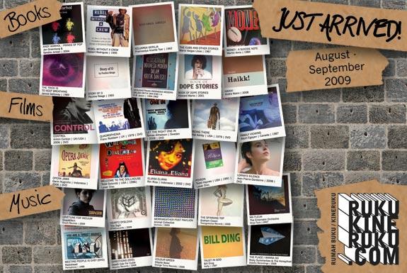 Just Arrived!<br> <b>August – September 2009.</b>