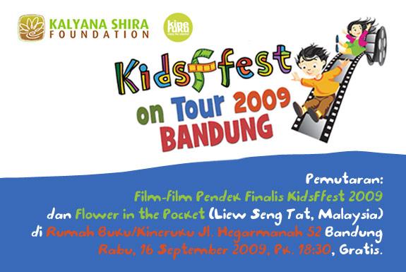 Kineruku Layar Tancep: <b>KidsFfest On Tour 2009</b>