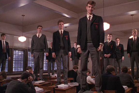 "<b>Dead Poets Society</b><br> ""O Captain, My Captain!"""