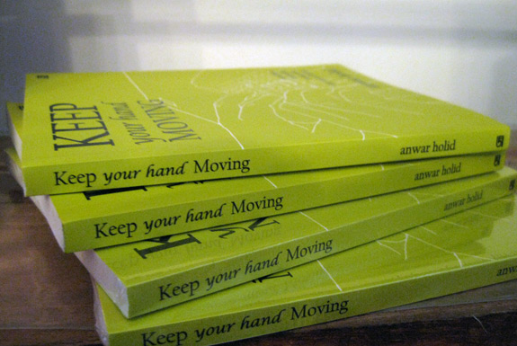 Telah Terbit! <b>Keep Your Hand Moving</b> (Anwar Holid, 2010)