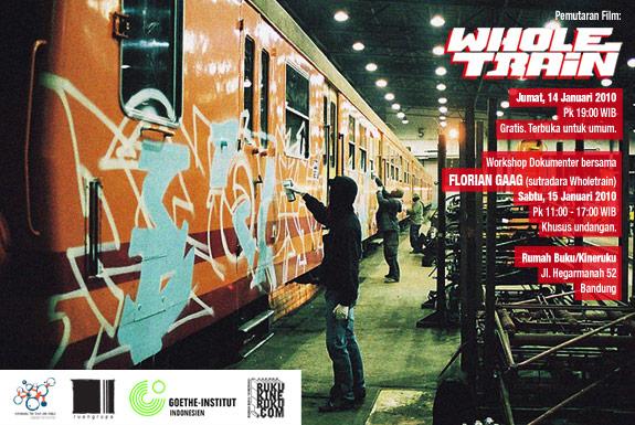 Pemutaran Film <b>Wholetrain</b> dan Workshop Dokumenter bersama <b>Florian Gaag</b>
