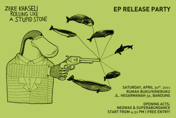 <b>Zeke Khaseli</b>: Rolling Like A Stupid Stone <b>EP Release Party</b>