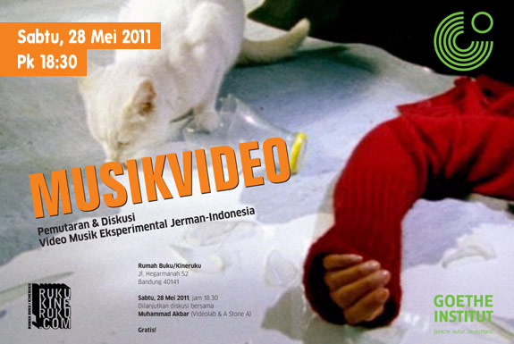 <b>MusikVideo</b>: Pemutaran Video Musik Eksperimental <b>Indonesia-Jerman</b>