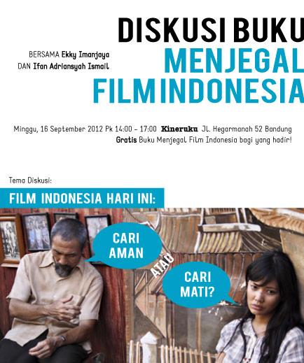 Diskusi Buku <b>Menjegal Film Indonesia</b>