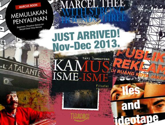 /just arrived!/ November-December 2013.