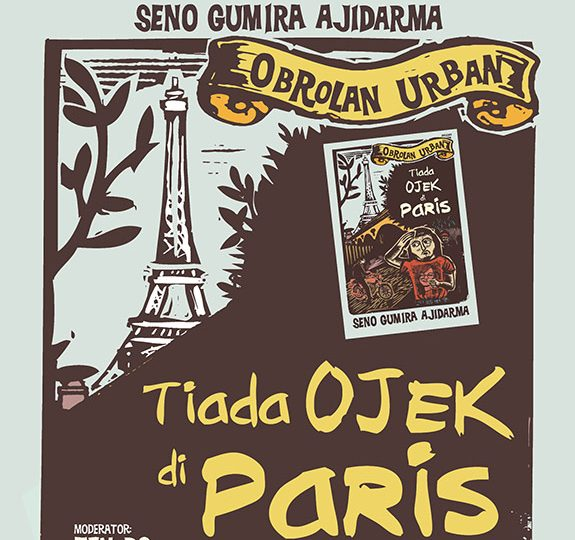 /diskusi/ Obrolan Urban bersama Seno Gumira Ajidarma