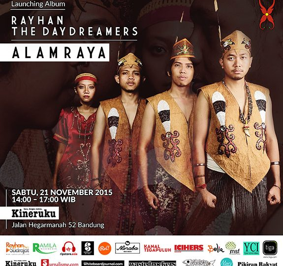 /peluncuran album/ Rayhan The Daydreamers – Alam Raya (2015)