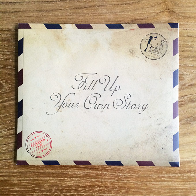 CD Blank Paper - Fill Up Your Own Story