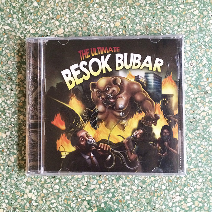 CD The Ultimate - Besok Bubar