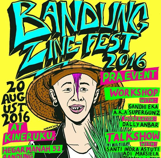 /workshop & talkshow/ Bandung Zine Fest 2016: Pre-Event