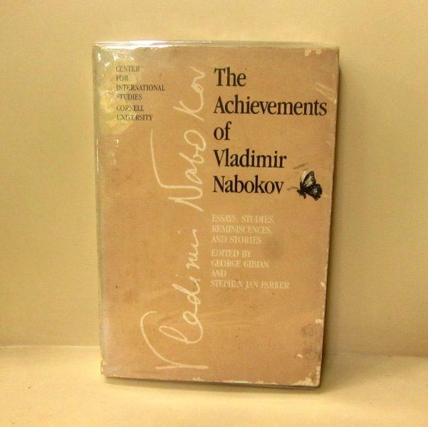 the achievements of vladimir nabokov essays studies the achievements of vladimir nabokov essays studies reminiscences and stories kineruku