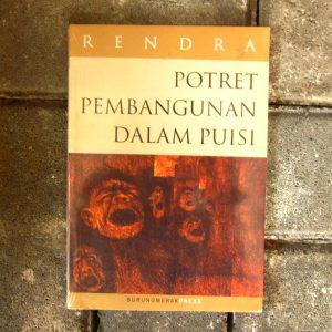 Buku - Potret Pembangunan dalam Puisi