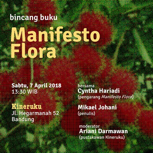/bincang buku:/ Manifesto Flora