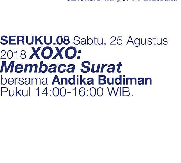 /agenda:/ SERUKU.08 – XOXO: Menulis Surat