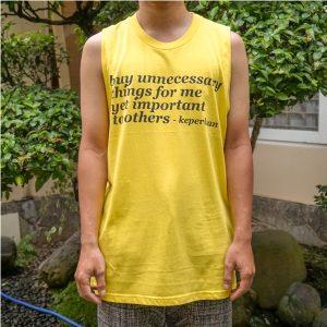 T-Shirt Toko Keperluan - Tanpa Lengan
