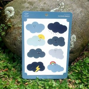 Sticker Set Cloud Emoji