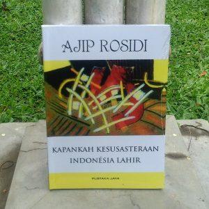 Buku - Kapankah Kesusasteraan Indonesia Lahir