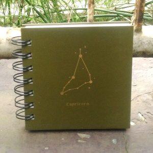 Mini Square Notebook - Capricorn