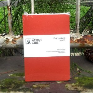 Notebook Orange Cliff