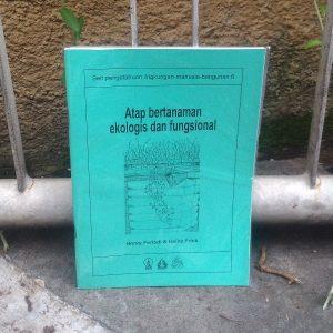 Buku - Atap Bertanaman Ekologis dan Fungsional