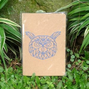 Pocket Note Sulam - Burung Hantu Biru